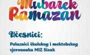"""Priredba """"Dobro nam došao mubarek Ramazan"""" (01.06.2015.)"""