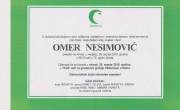 Na Ahiret preselio Omer Nesimović