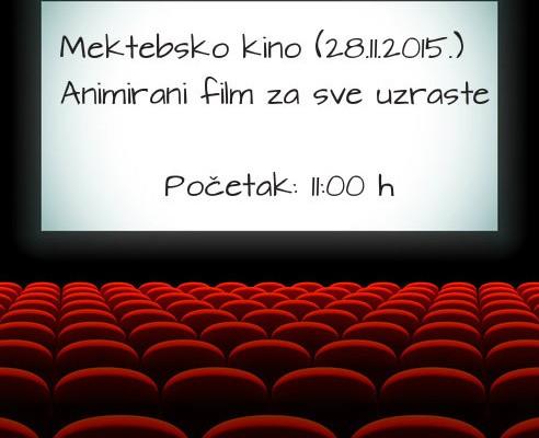 Mektebsko kino u subotu, 28.11.2015.