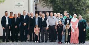 Zajendička fotografija sa članovima IOM-a u Sisku