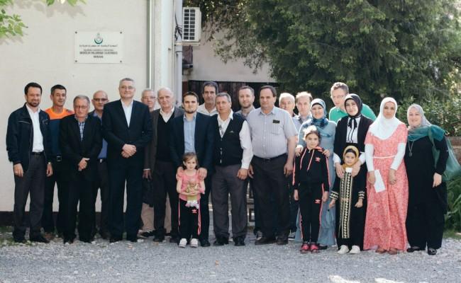 Muftija sa suradnicima posjetio MIZ Sisak i održao sjednicu sa Izvršnim odborom