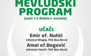Poziv na Mevludski program uz goste učače i predavače