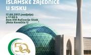 Svečana akademija povodom 50. obljetnice Islamske zajednice u Sisku i Donatorska večer