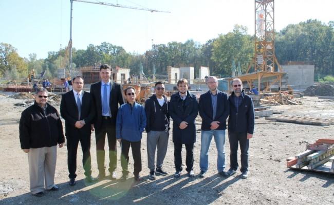 Veleposlanik Malezije sa suradnicima posjetio gradilište IKC-a u izgradnji i Medžlis