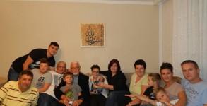 Zajednička fotografija sa obitelji