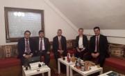 Veleposlanik R Turske posjetio gradilište IKC-a i Medžlis