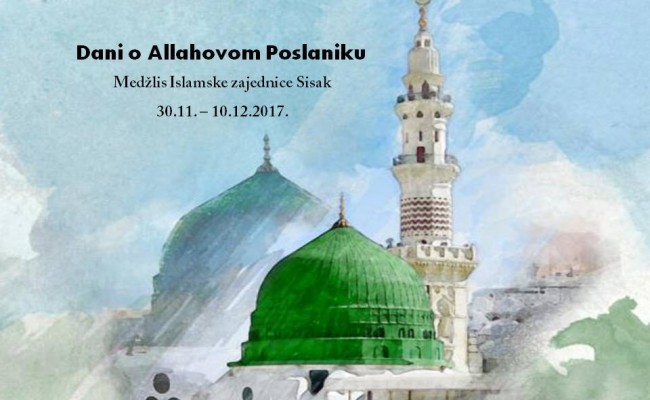 Dani o Allahovom Poslaniku u MIZ Sisak