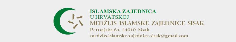 MEDŽLIS ISLAMSKE ZAJEDNICE SISAK